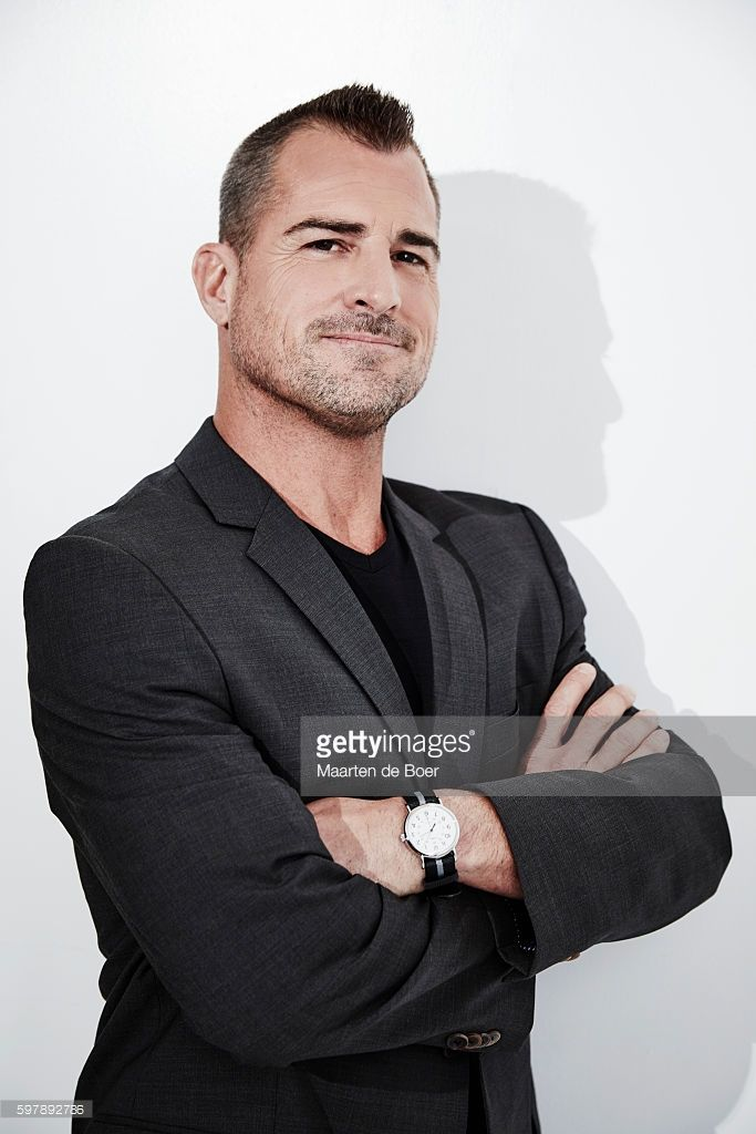 George Eads from CBS's 'MacGyver' poses for a portrait at the 2016 Summer TCA Getty Images Portrait Studio at the Beverly Hilton Hotel on August 10th, 2016 in Beverly Hills, California