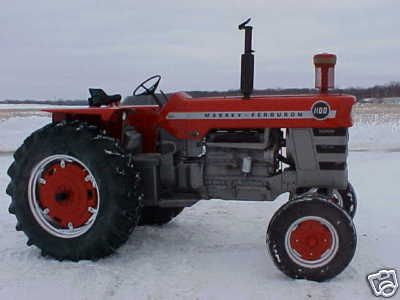 Massey Ferguson 1100 Diesel Tractor | I love this one personally cause my grandpa had this model