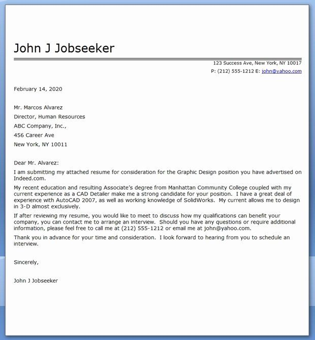 Pin On Cover Letter For Resume