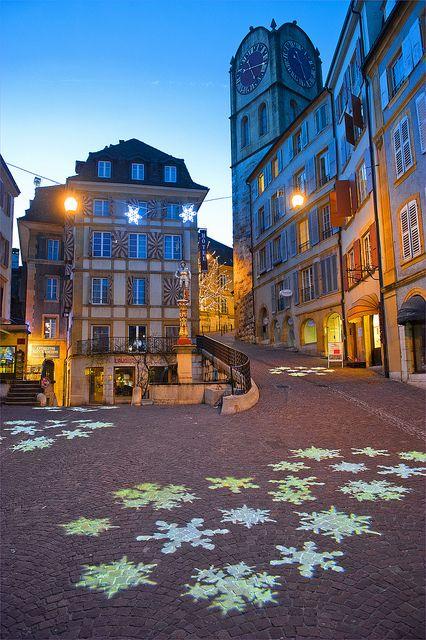 Light Festival in Neuchâtel. December 30, 2013. No. 3030.   Flickr - Photo Sharing!