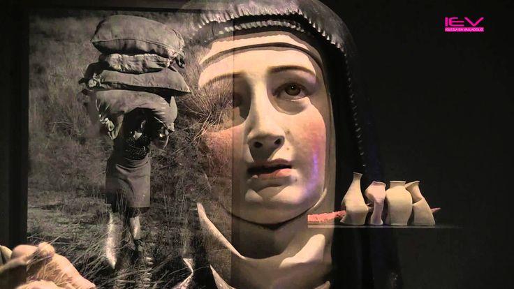 """17-11-2015 - La exposición que acoge hasta el 24 de febrero de 2016 el Museo Nacional de Escultura (Valladolid) """"Nada temas, dice ella. Cuando el arte revela..."""