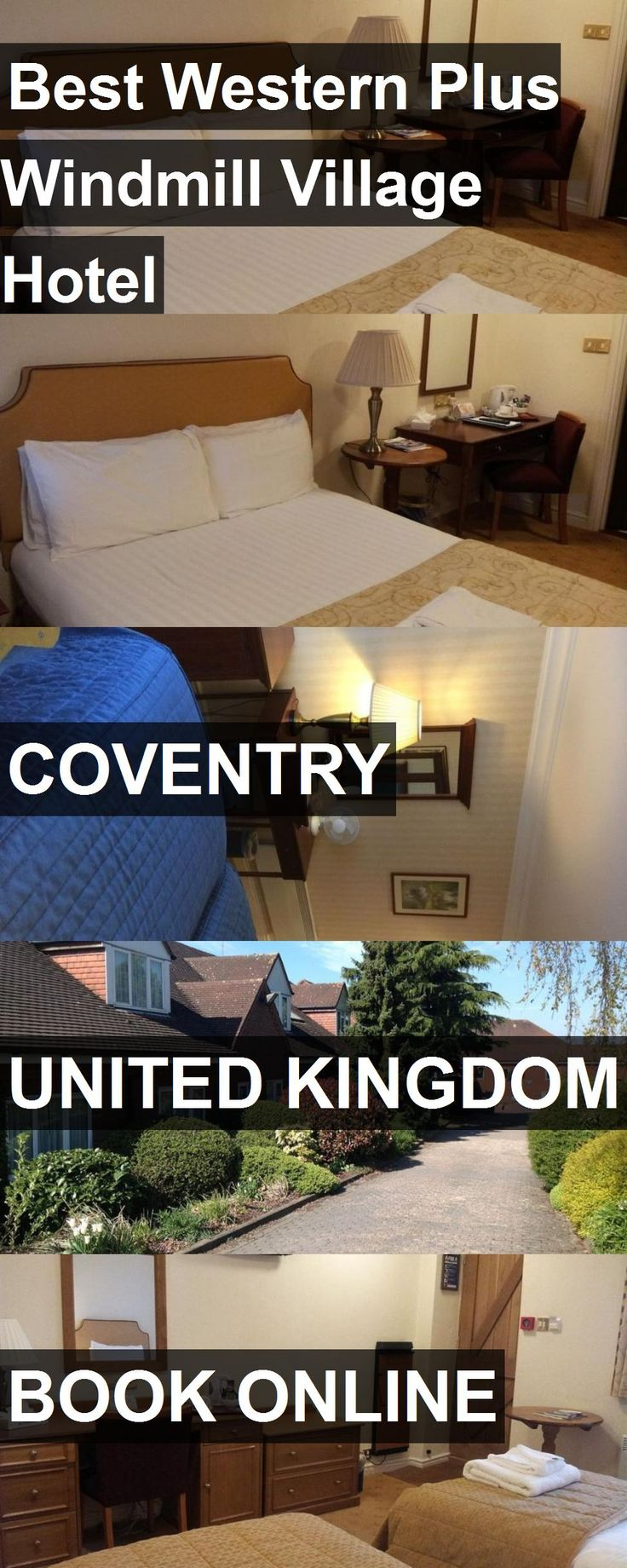 Hotel Best Western Plus Windmill Village Hotel in Coventry, United Kingdom. For more information, photos, reviews and best prices please follow the link. #UnitedKingdom #Coventry #hotel #travel #vacation
