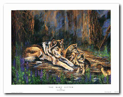 Grey wolf family Wildlife Animal Painting Wall Décor Art ... https://www.amazon.com/dp/B01LYQCGC2/ref=cm_sw_r_pi_dp_x_Swn9xbZHCT1X1