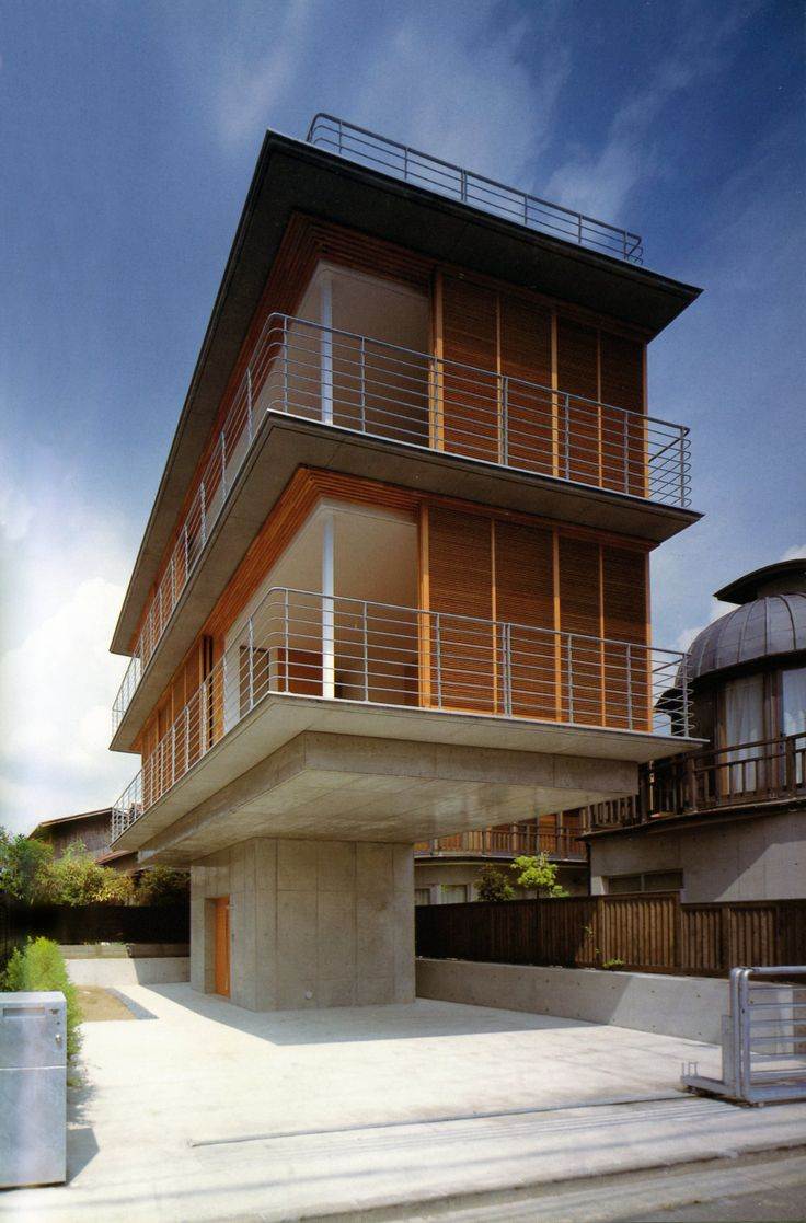 tezuka architects observatory house japan 2004 designed so that the occupants have a - Japanese Architecture Small Houses