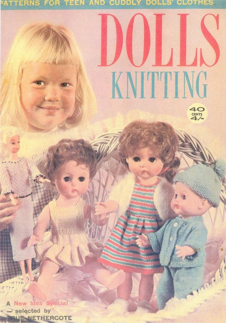 Vintage 'Dolls Knitting'.