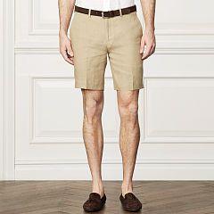 Linen Short - Purple Label Shorts - RalphLauren.com