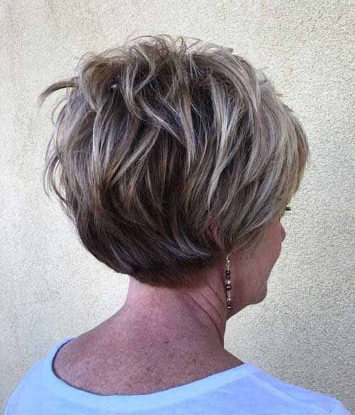 19. Layered Pixie Cut