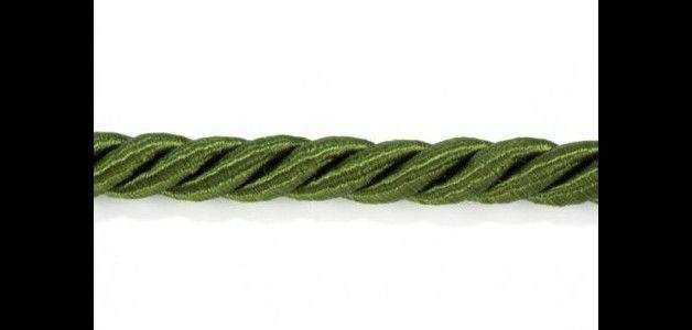 Corde & Cordoncini - Cordone di Raso Verde Oliva metri 3 - un prodotto unico di raffasupplies su DaWanda
