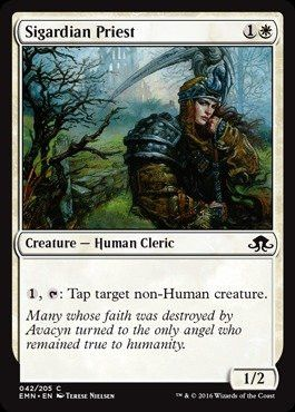 Magic: the Gathering - Sigardian Priest (042/205) - Eldritch Moon
