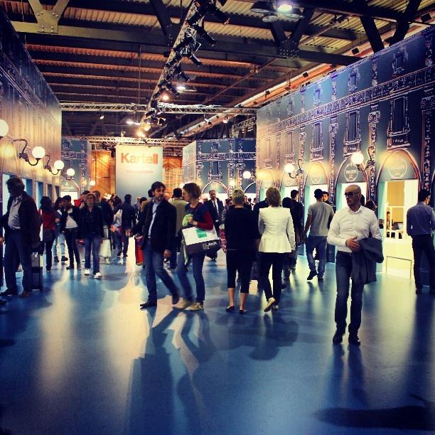 Salone 2013   Kartell #fieramilano #salonedelmobile #kartell #galleria #designweek #design #milano   via Instagram - Thanks to @Halie