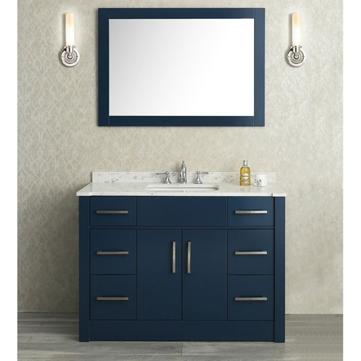 radcliff midnight blue seacliff by ariel radcliff single sink vanity set midnight blue by ariel find this pin and more on bathroom ideas