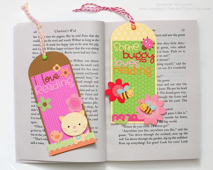 Doodlebug Design Inc Blog: Quick & Simple: Bookmarks by Tamara Tripodi