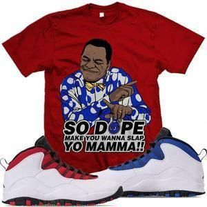 6871e2807b28a7 MDM T-Shirt Jordan 10 Westbrook Match Sneaker Tees Shirts - SLAP MOMMA   MensfashionSneakers  Sneakers