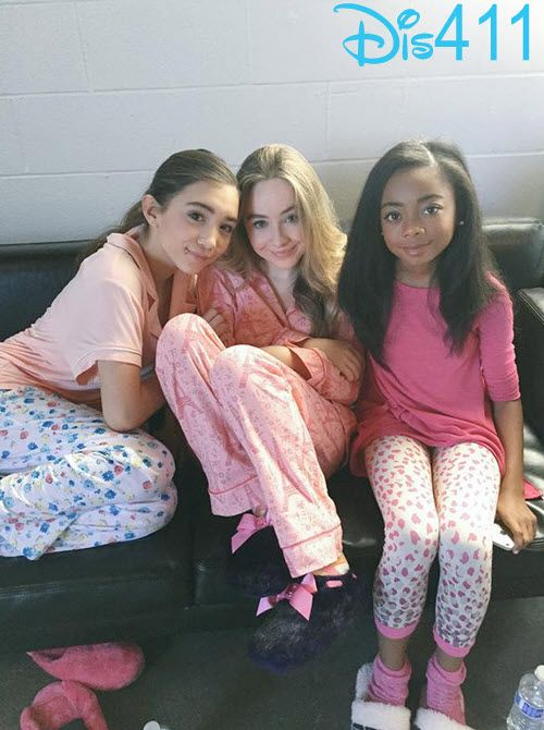 Photo: Skai Jackson With Sabrina Carpenter
