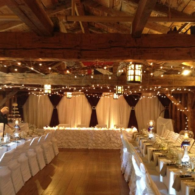 Navy hall wedding in beautiful Niagara on the Lake