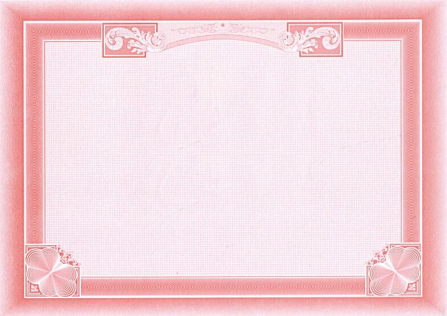 Pink Background Certificate Border Certificate Design Template Certificate Background Certificate Border
