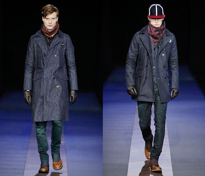 G-Star RAW 2013-2014 Fall Winter Mens Runway Collection - Bread and Butter Berlin