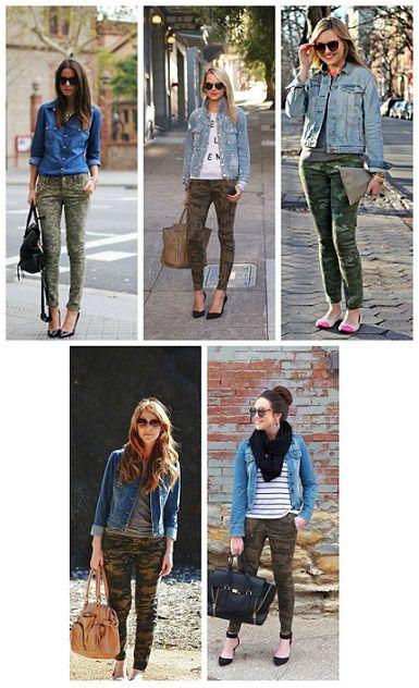 Beautiful Womens Camo Cargo Pants   EBay