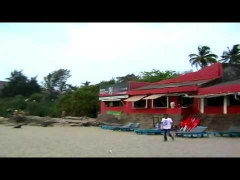 Индия. Гоа. Отдых на пляже Вагатора.
