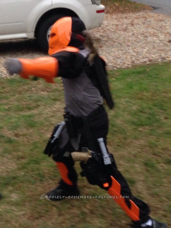 Deathstroke Costume for a 9 Year Old Boy...