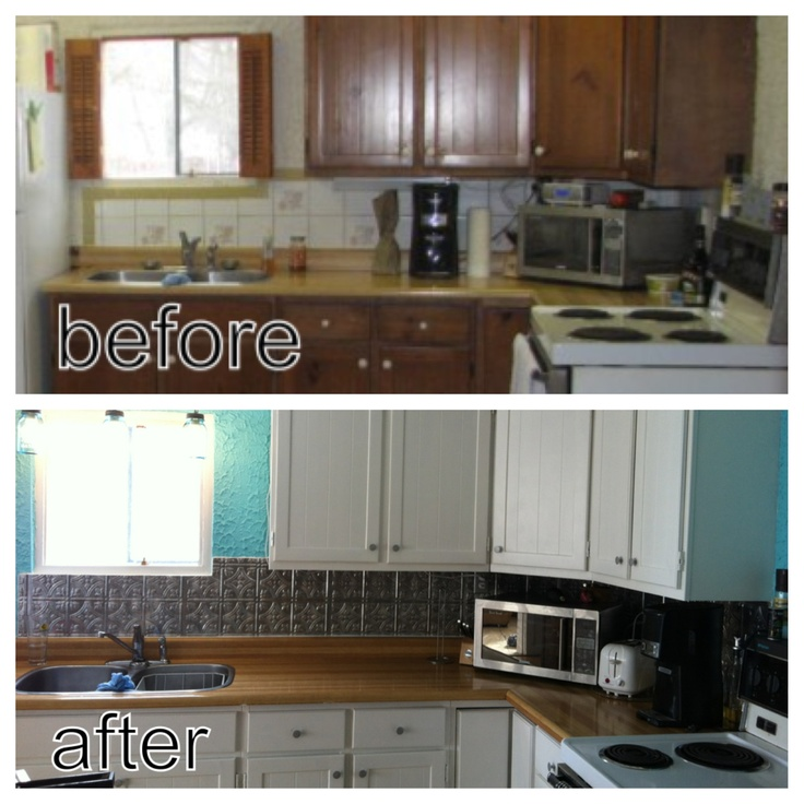Beachy kitchen facelift For the Home