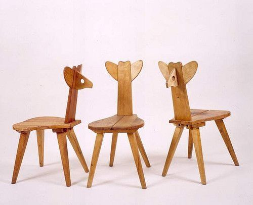 Kids design chairs