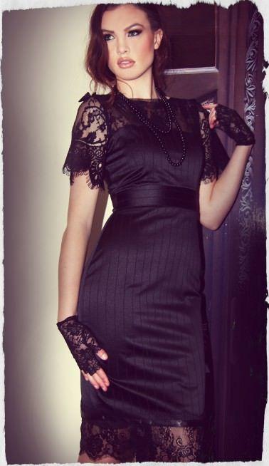 St. Germain Wiggle Dress