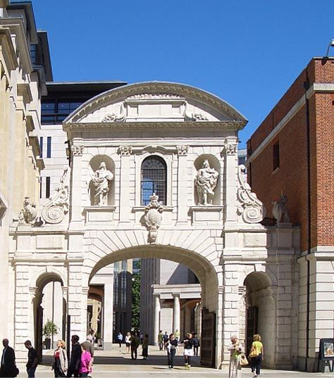 Temple Bar, ( relocated ) London-Christopher Wren
