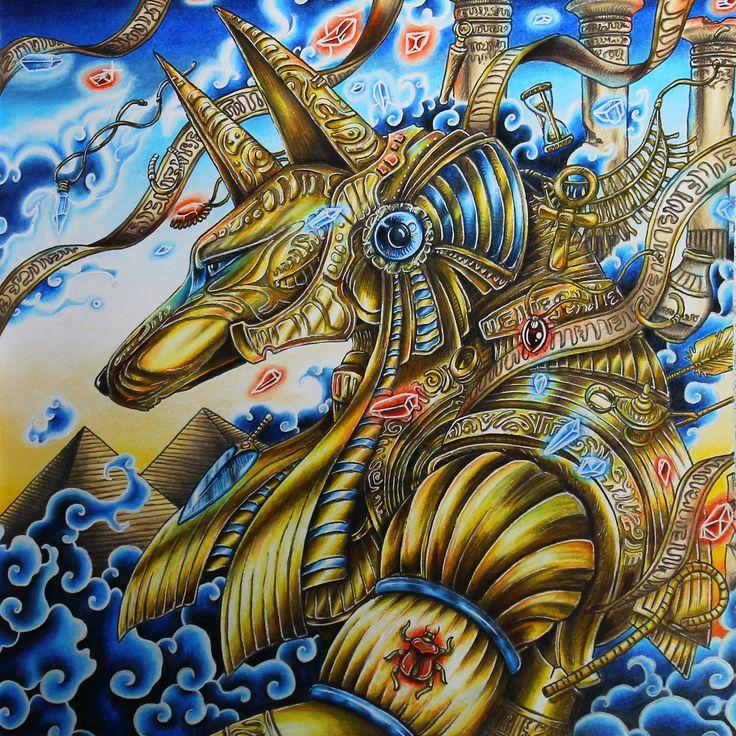 Gold Anubis From Mythomorphia Kerbyrosanes
