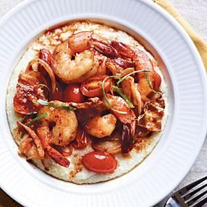 Spicy Shrimp and Grits Recipe | MyRecipes.com