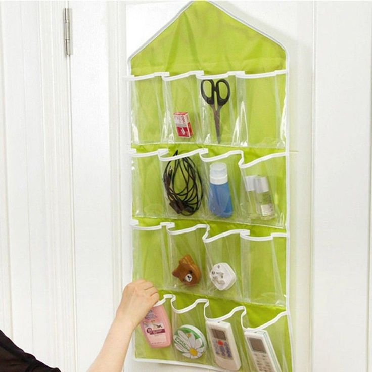 Portable 16 Pockets Door Hanging Bag Shoe Rack Hanger Storage Tidy Organizer