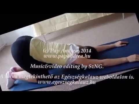 Nincs többé hátfájás, derékfájás! Napi otthoni gerinctorna gyakorlatok videóval, képekkel