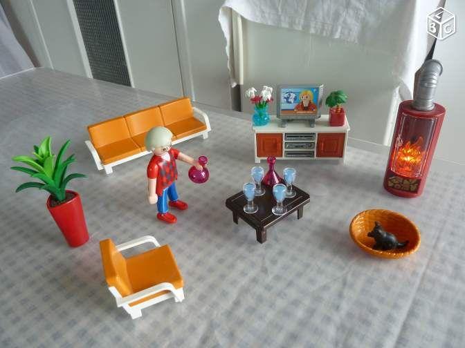 Les 78 meilleures images propos de playmobil sur for Salon playmobil