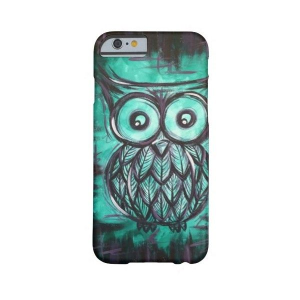 Night Owl Phone Case Barely There Iphone 6 Case ($43) ❤ liked on Polyvore featuring accessories and tech accessories