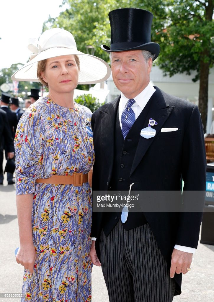 Serena, Countess of Snowdon and David, Earl of Snowdon attend day 1 of Royal Ascot at Ascot Racecourse on June 20, 2017 in Ascot, England. (Photo by Max Mumby/Indigo/Getty Images)