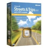Microsoft Streets and Trips 2007 with GPS Locator [DVD] [OLD VERSION] (DVD-ROM)By Microsoft Software