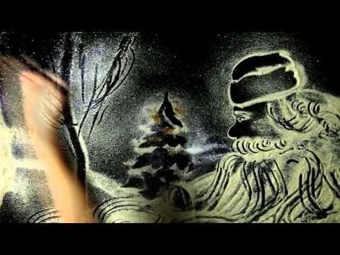 С новым годом !Снежная Анимация Виктория Пархоменко - YouTube