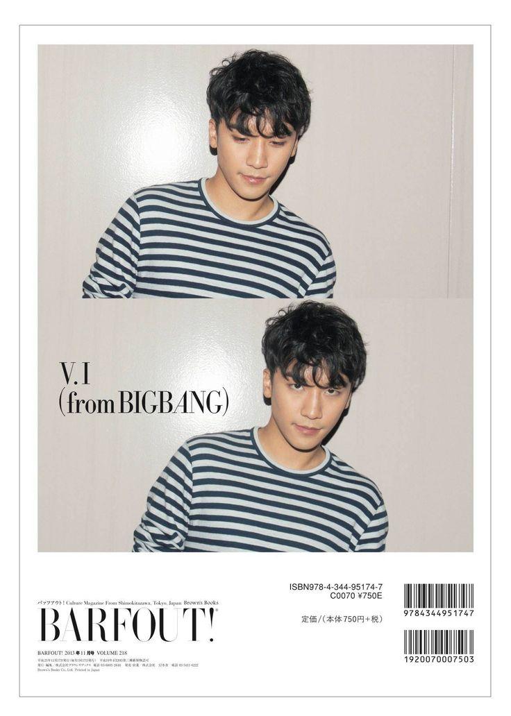 Seungri ♡ for Barfout Magazine:
