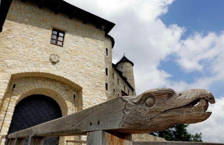 "#Zamek #Bobolice - jedno z Orlich Gniazd / Bobolice #Castle - one of the ""Eagles' Nests"""