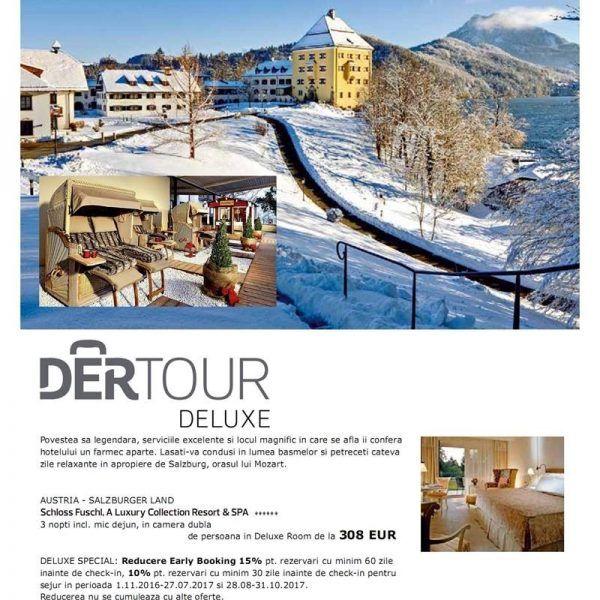 AUSTRIA: IARNA DE POVESTE LA SCHLOSS FUSCHL! http://bit.ly/2i9A9nW #travel #schi #vacanta