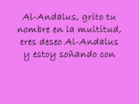 Canción: Al-Andalus con letra del nuevo disco de David Bisbal