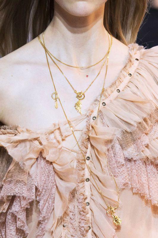 Modna biżuteria [wiosna-lato 2016], Roberto Cavalli, fot. Imaxtree
