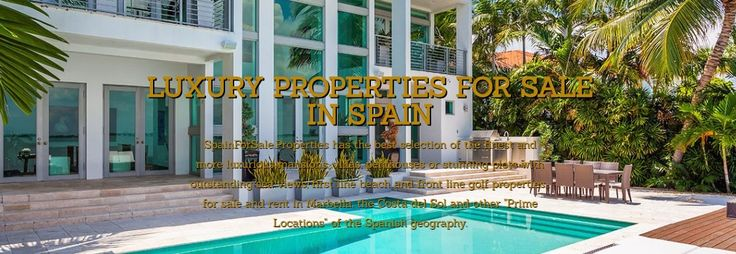 "SpainForSale.Properties is considered one of the most trusted Exclusive Real Estate Agencies in Spain, especially in Marbella, Costa del Sol, Balearic Islands and other ""Prime Locations"" in Spain. Our properties for sale portfolio features one of the most distinctive properties in La Costa del Sol: Luxury mansions, villas and apartments for sale in: Marbella city, La Zagaleta, Nueva Andalucia, Sierra Blanca, Los Flamingos, Los Monteros, the Marbella Golden Mile to Puerto Banus or Guadalmina…"
