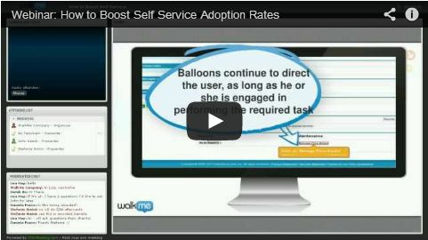Webinar: Boost Self Service Adoption Rates and Lower Customer Support Costs