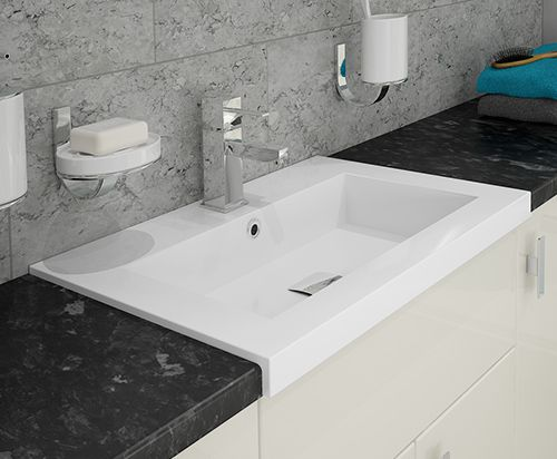 Pescara - Our easy to install Breeze basin. Bathroom furniture is not only great for providing much needed storage, it's also great for making the most of space.