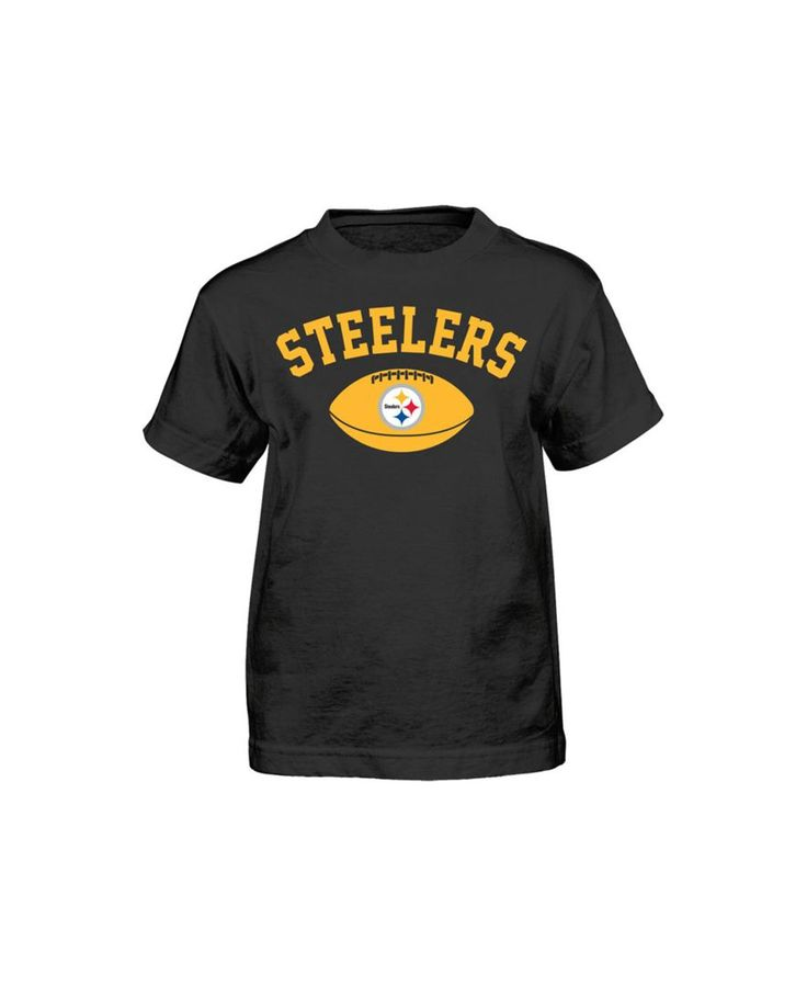 Outerstuff kids 39 pittsburgh steelers arch football t shirt for Custom t shirt printing pittsburgh