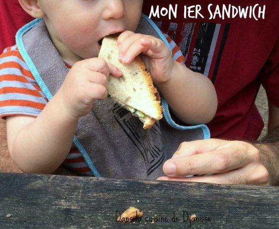 Mon 1er sandwich, dès 9/10 mois