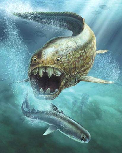 Дунклеостей - страшная доисторическая рыба | Lux-e.ru