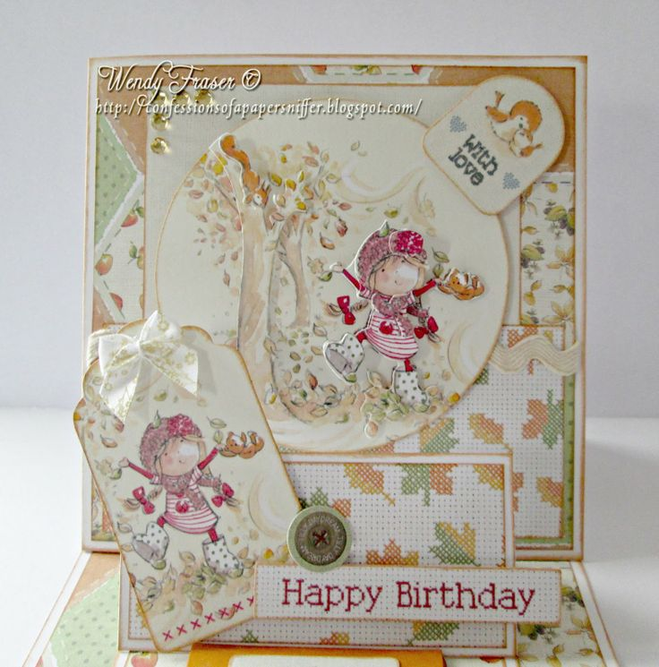 tilly daydream snowflake card ideas - Google Search