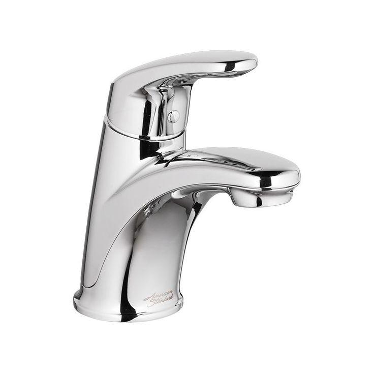 American Standard 7075.102 Colony Pro Centerset Single Handle Bathroom Faucet wi Polished Chrome Faucet Lavatory Single Handle